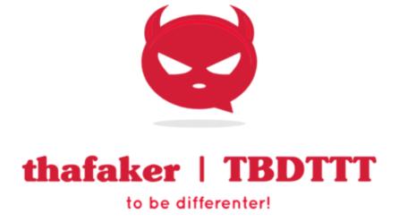 thafaker.de Logo wide