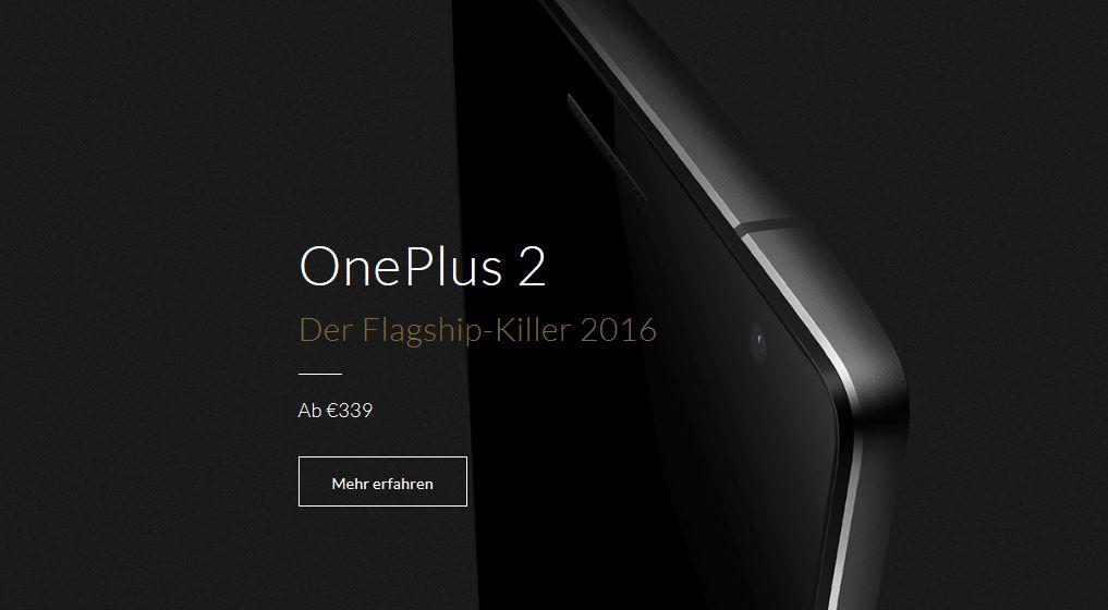 OnePlus 2 Invite abzugeben