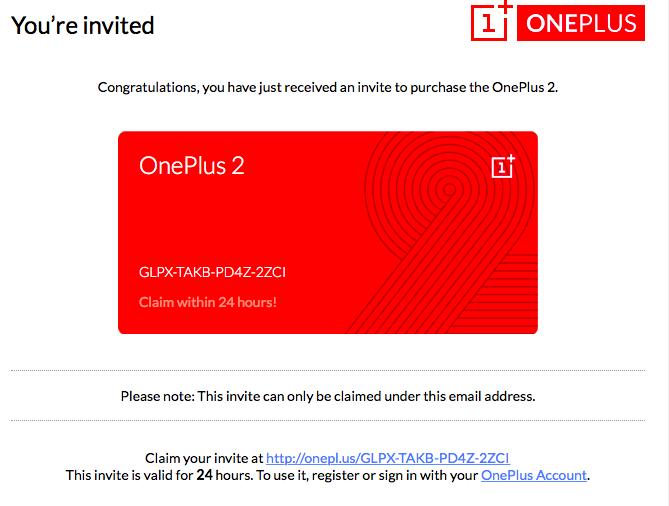 thafaker.de OnePlus 2 Invite