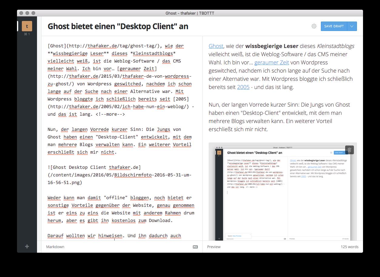 Ghost Desktop Client thafaker.de