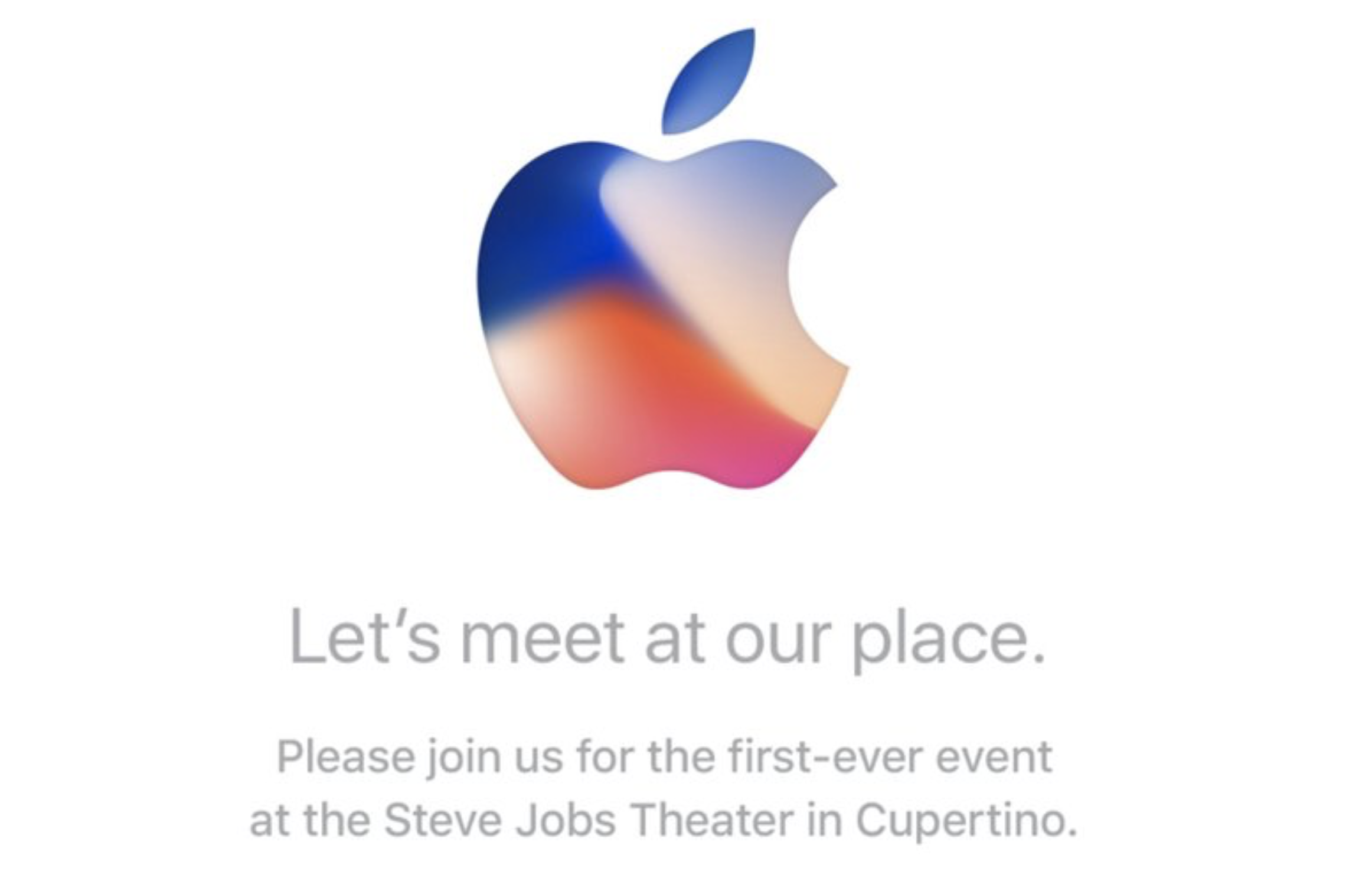 2017er Apple iPhone Event