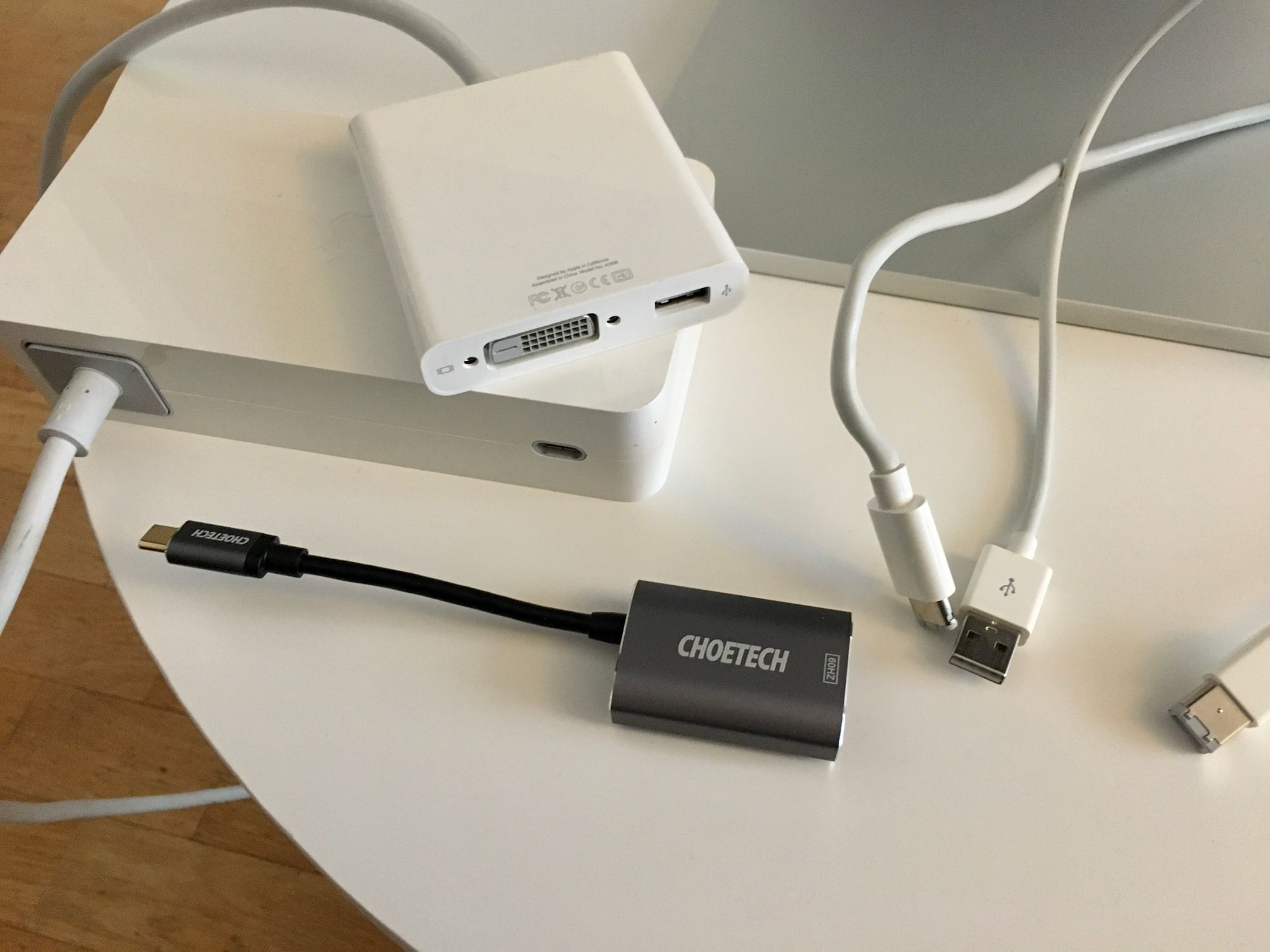 Thunderbolt 3 / USB C auf Thunderbolt 2 Adapter