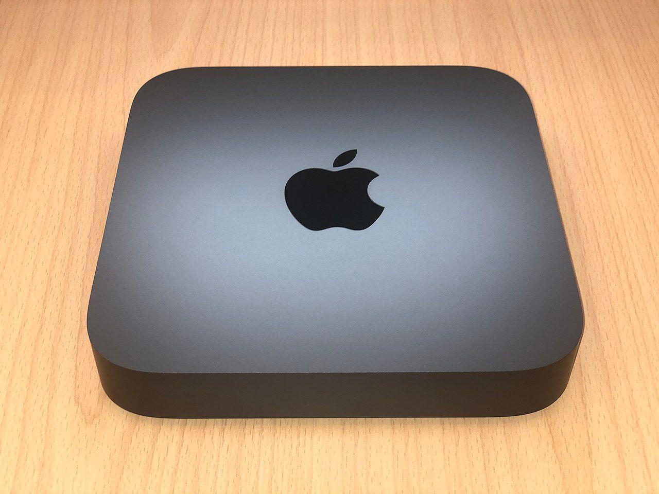 So ähnlich sieht der Mac-Mini for ARM aus: Macmini8,1, Mac Mini Unibody A1993. (C) CC BY-SA 4.0