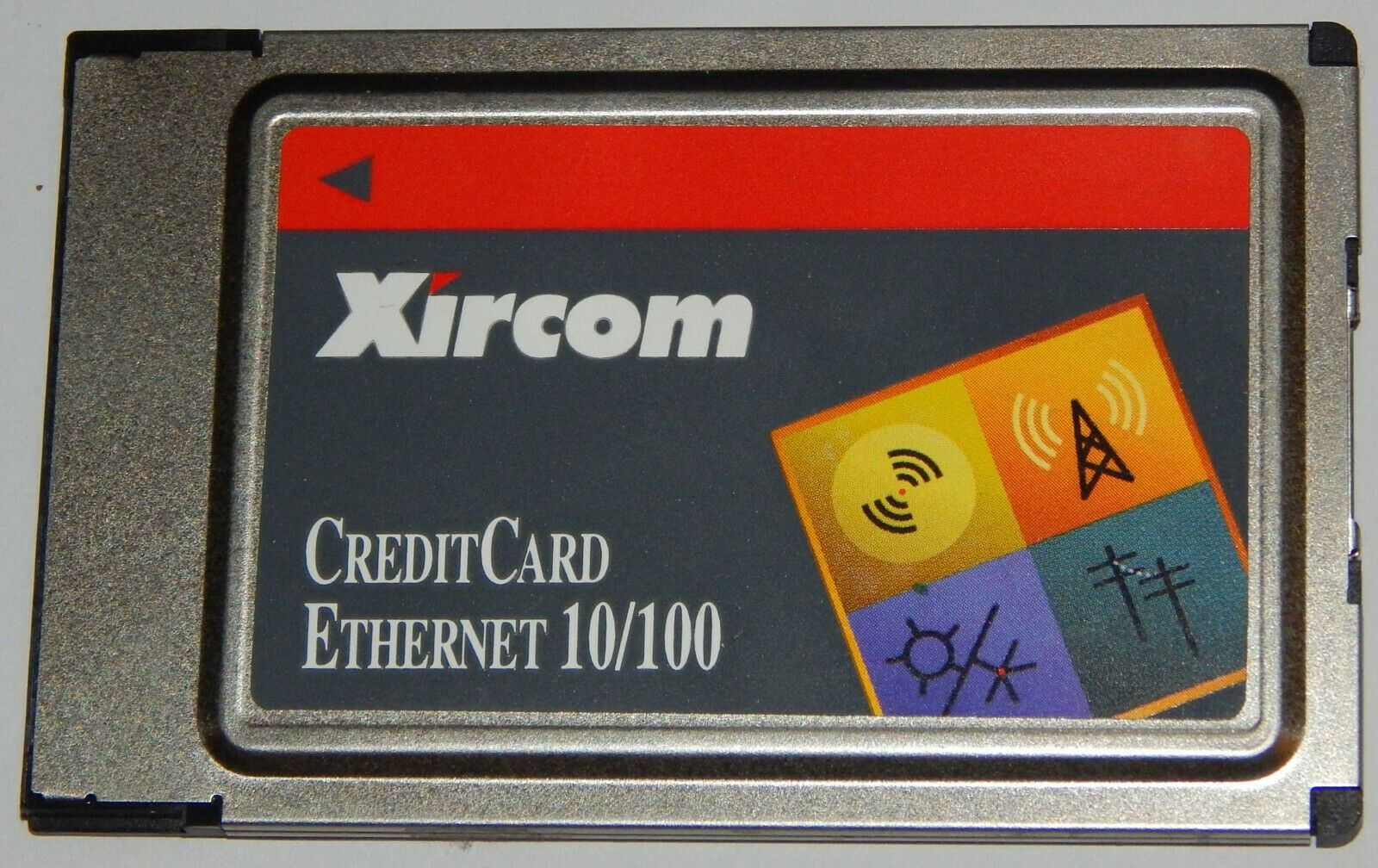 Xircom CreditCard Ethernet 10/100 16-Bit PCMCIA Netzwerk Karte