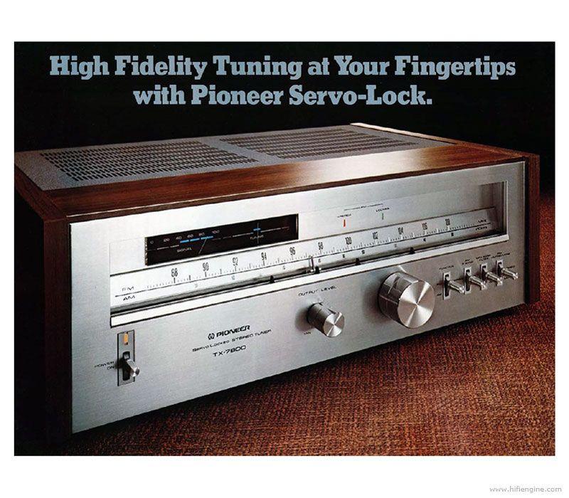 Alte Werbung: TX-7800 mit Holzzarge (C) Hifi-Engine.com